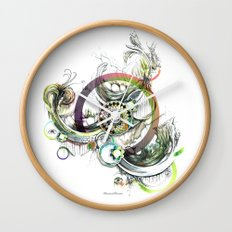 a good place for sincere thought Wall Clock
