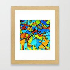 Just Fun  Framed Art Print