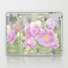 Hollyhocks Laptop & iPad Skin