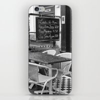 Lunch Under The Rain - A… iPhone & iPod Skin
