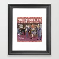 Charlie X And The Origin… Framed Art Print
