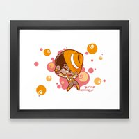 Bee-J Color3 Framed Art Print