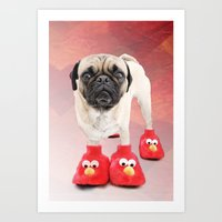 You don't have a pair or two too? Art Print