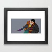Winter Hinny Framed Art Print