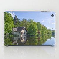 House at and in the water iPad Case
