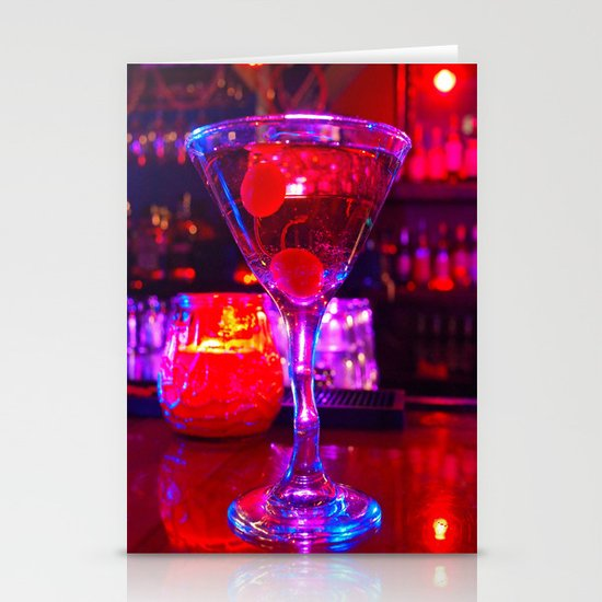 Martini aesthetics  Stationery Card