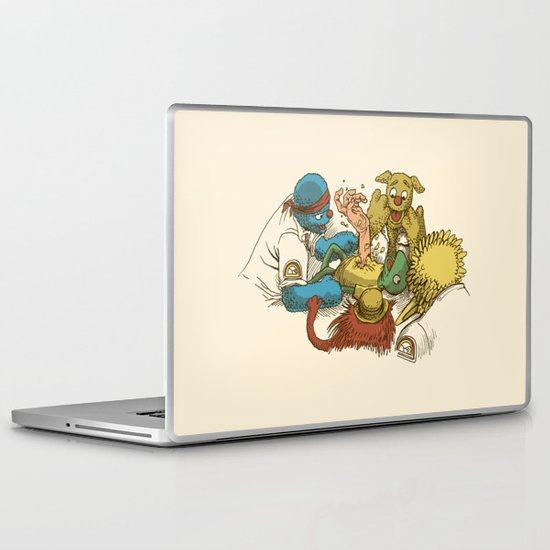 Open Sesame Laptop & iPad Skin
