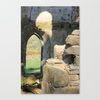 Tower Ruins Canvas Print