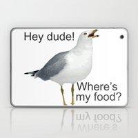 Seagull Hey Dude Where's… Laptop & iPad Skin