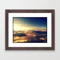 What heaven looks like Framed Art Print