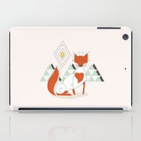 Fox in the mountain iPad Case