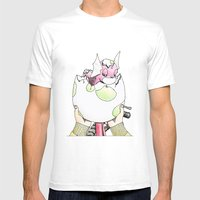 Hatched! Mens Fitted Tee White SMALL