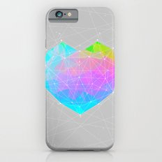 The Dots Will Somehow Connect (Geometric Heart) Slim Case iPhone 6s