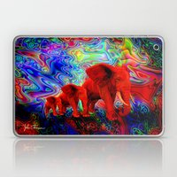 Psychedelic Pachyderms Laptop & iPad Skin