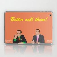 Better call them! Saul Goodman - Ari Gold Laptop & iPad Skin
