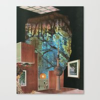 Inner Cities: The Lost C… Canvas Print