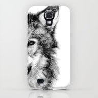 iPhone & iPod Case featuring WOLF by Joelle Poulos