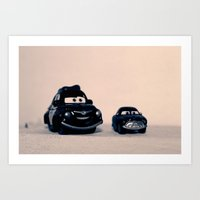 Miniature Cars Art Print