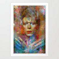Ziggy in the sky  Art Print