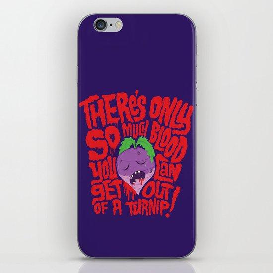 Bloody Turnips iPhone & iPod Skin