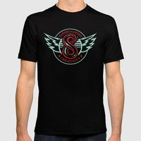 S6 Supercharged Mens Fitted Tee Black SMALL
