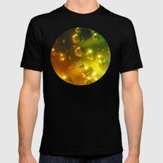 Bubbles! SMALL Black Mens Fitted Tee