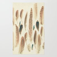 Found Feathers Rug