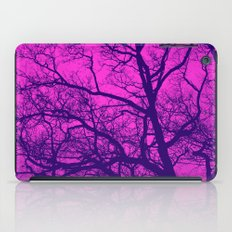 Pink and Blue Tree iPad Case