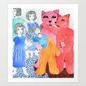 Harmony & Discord Art Print
