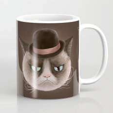 Sad cat Mug