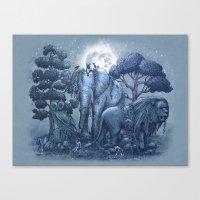 Stone Garden Canvas Print