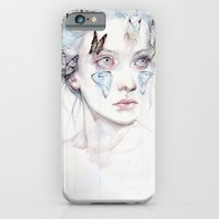 iPhone Cases featuring love and sacrifice by agnes-cecile