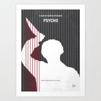 No185 My Psycho Minimal … Art Print