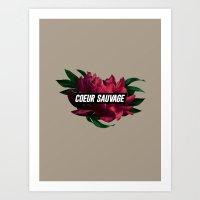 sauvage Art Print