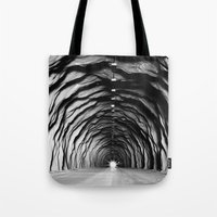 End of the tunnel Tote Bag