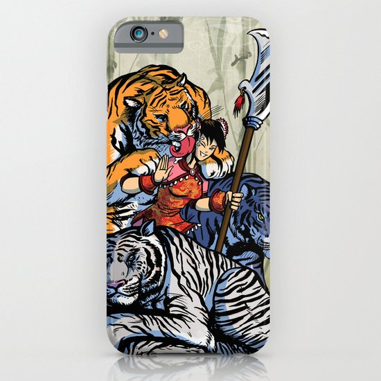 Year Of The Tiger iPhone & iPod Case