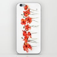 Remember me _ Poppies iPhone & iPod Skin