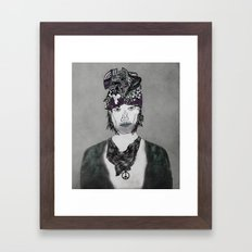 Platonic years Framed Art Print