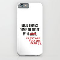 iPhone & iPod Case featuring Good Things by Elliot Hindes