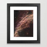 Galaxies Framed Art Print