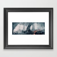 Crystal Cave Framed Art Print