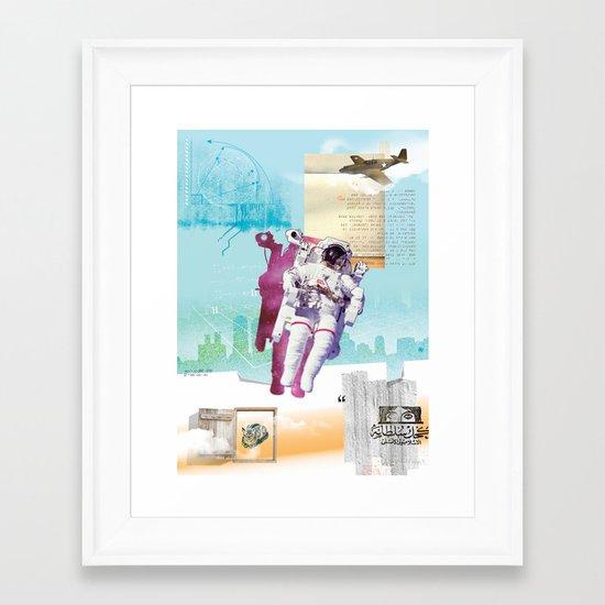 Spaceology Framed Art Print