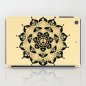 Lotus Peace Print Gold Edition iPad Case