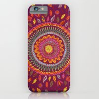 Leafy Fall Mandala iPhone 6 Slim Case