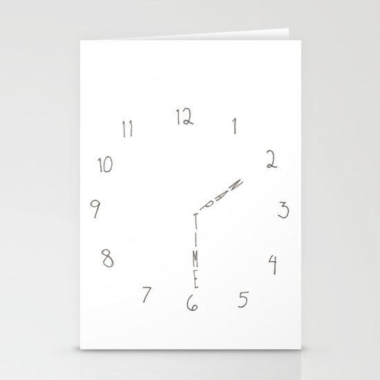 nap time Stationery Card