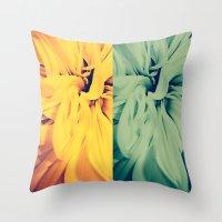 flower|rewolf Throw Pillow