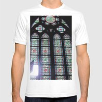Let In The Light Mens Fitted Tee White SMALL