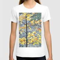 Yellow Tree Womens Fitted Tee White SMALL