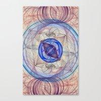 Retina Nebula  Canvas Print