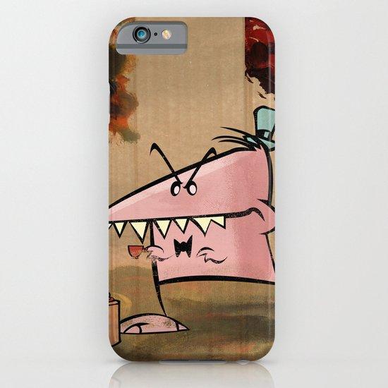 Dennis Dinosaur Hates Afternoon Tea iPhone & iPod Case